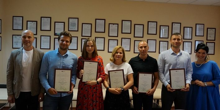 Вручение Сертификатов CIMA (Rus)